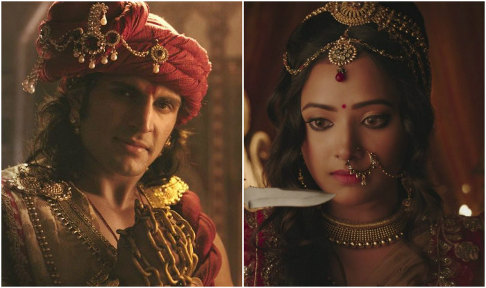 ChandraNandini: Chandra greeneyed with Nandini Malayketu intimacy