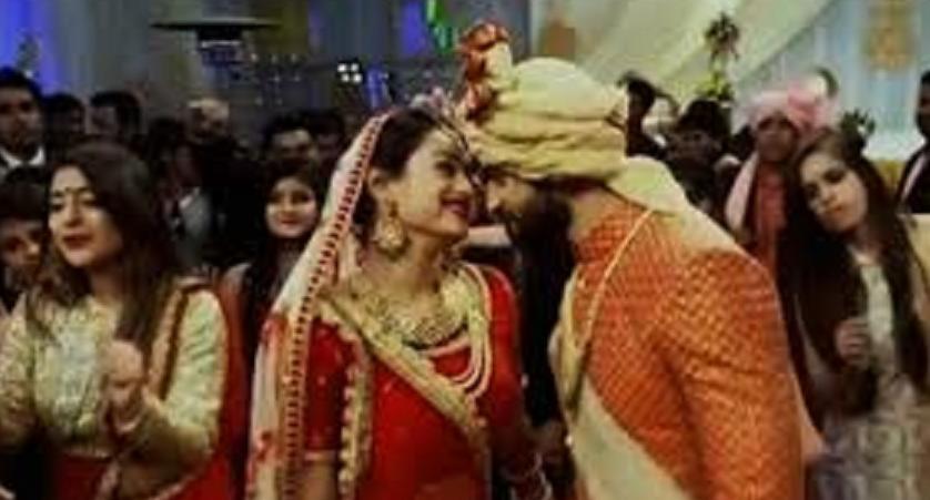 Zindagi Ki Mehek: Aww! Shaurya and Mehek's gazing Kala Chasma performance in wedding